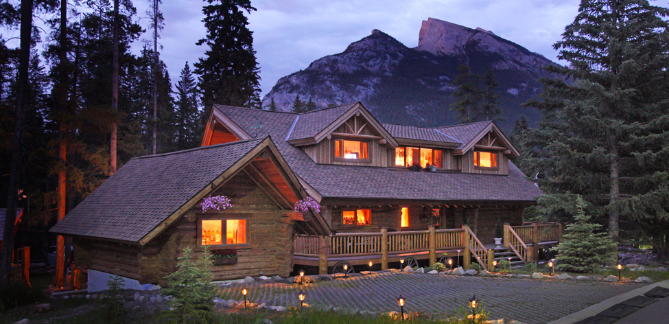 Banff Log Cabin Bed Breakfast Accommodation