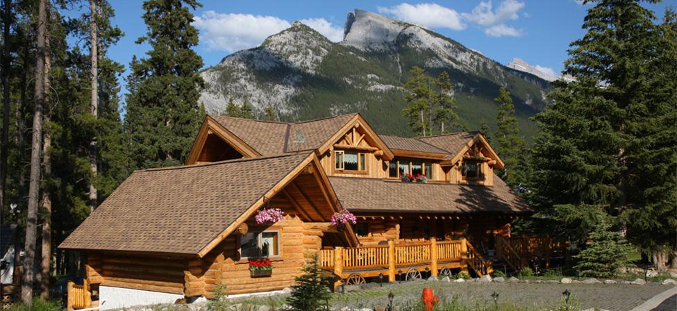 Banff Log Cabin Bed Breakfast Accommodation